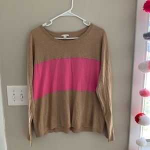Gap medium color block sweater